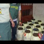 La Guardia Civil desarticula una organización de narcotraficantes e interviene 641 kilos de droga