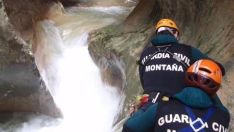 El Servicio de Montaña de la Guardia Civil rescató a más de 1.500 personas en 2015
