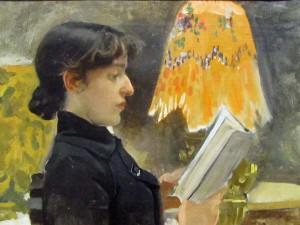Perfil de Clotilde 1884 sorolla