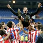 """El Atlético de Madrid celebra el triunfo de la fe: """"Si se cree y se trabaja, se puede"""""""